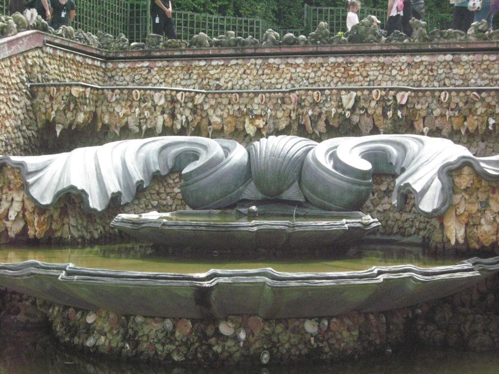 Drama, Blog:Übergewicht, Untergewicht, seelische Sicht Muschelbrunnen, Versailles