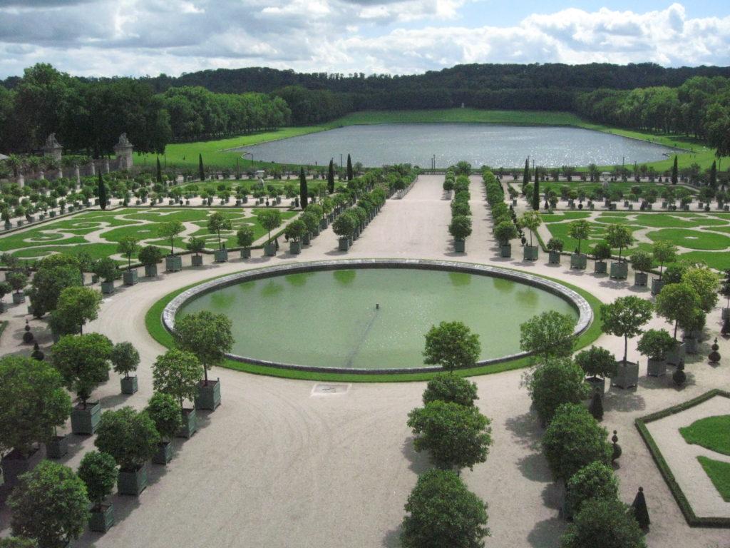 Drama, Blog: Übergewicht, Untergewicht, seelische Sicht, Park Versailles